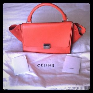 Barely used clementine Celine trapeze